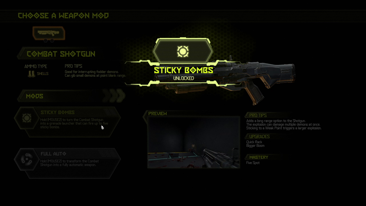 How to unlock weapon mods - Doom Eternal