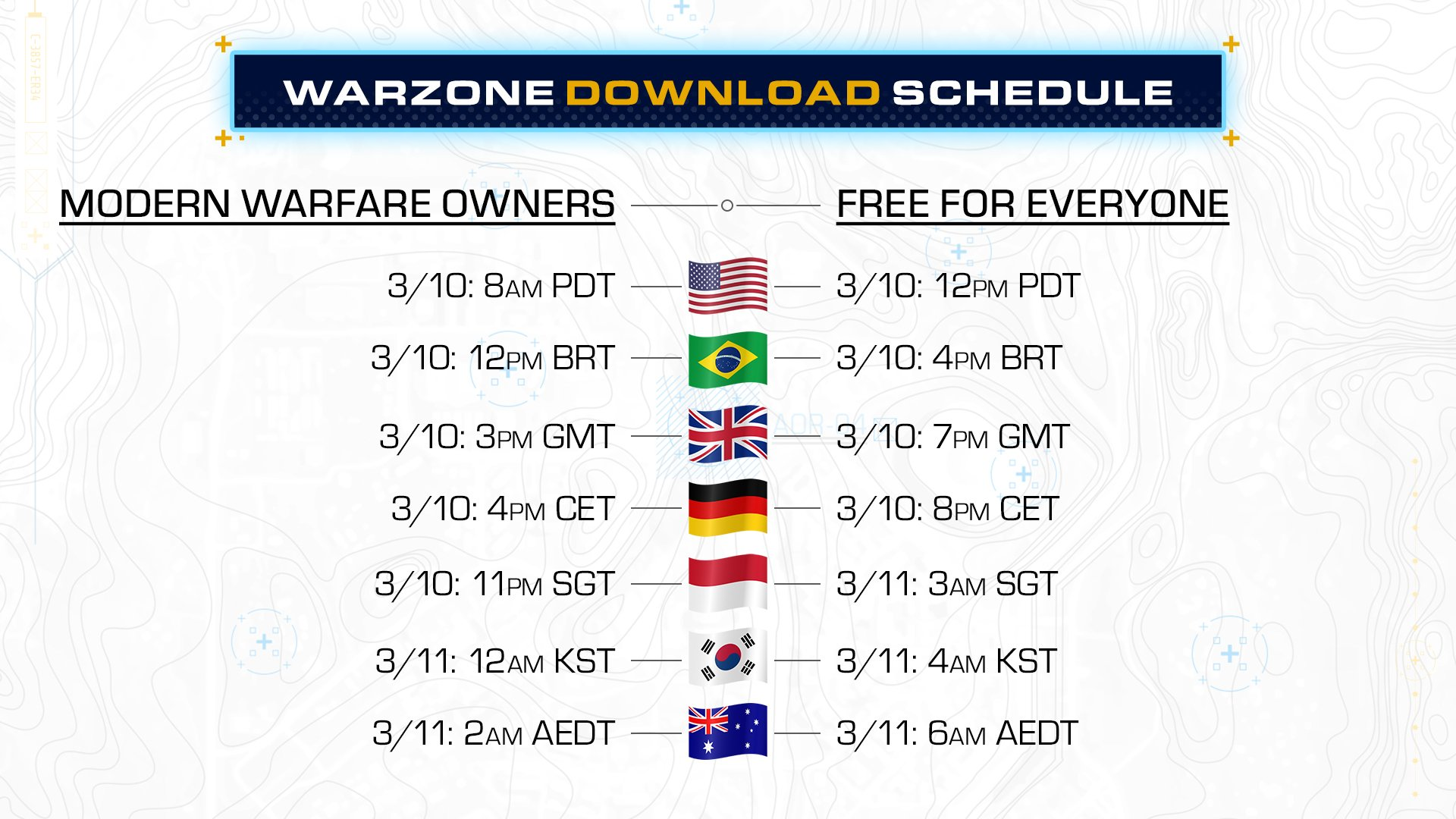 Call of Duty: Warzone release date and time
