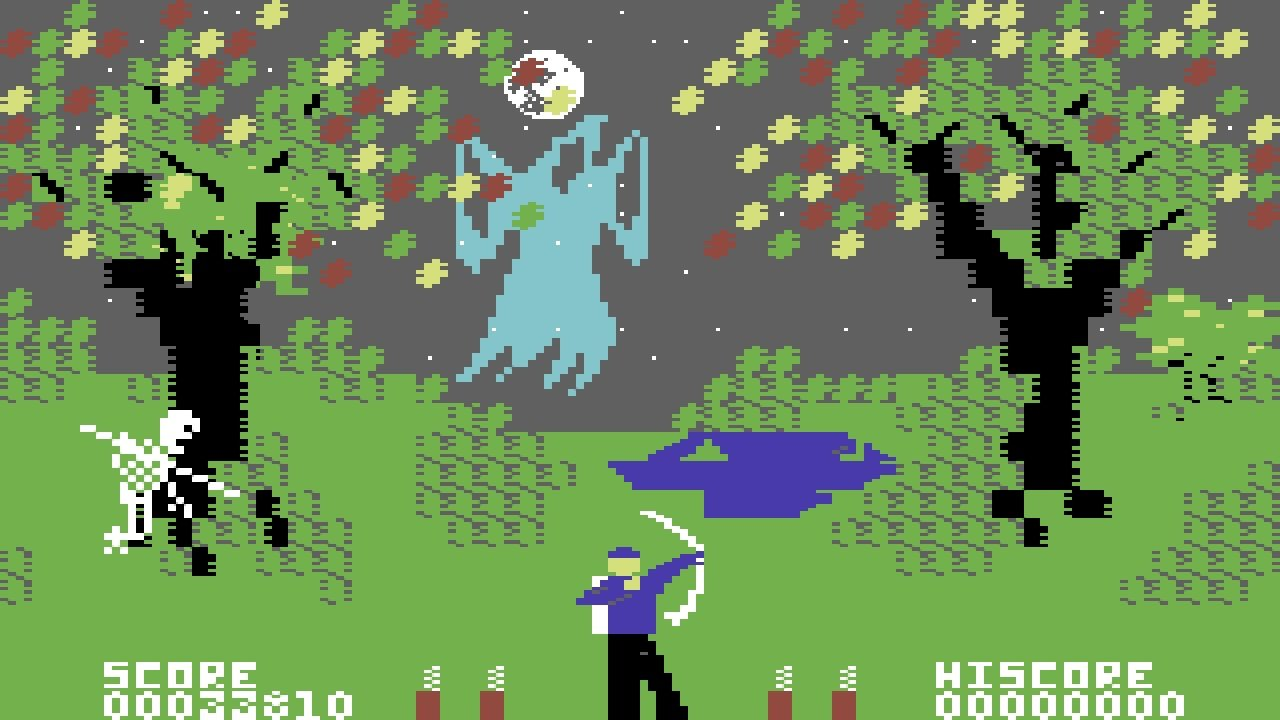 As one of the very first games to feature parallax scrolling, Forbidden Forest was a huge achievement of the Commodore 64 era from which it came.