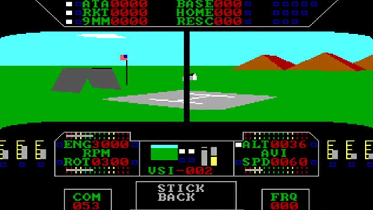 From all the way back in 1988 on MS-DOS, Super Huey was one of the most and enjoyable flight combat sims of its time.