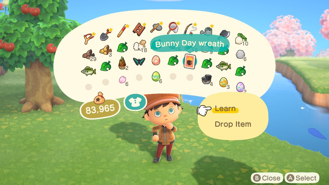 How to start Bunny day - Animal Crossing: New Horizons