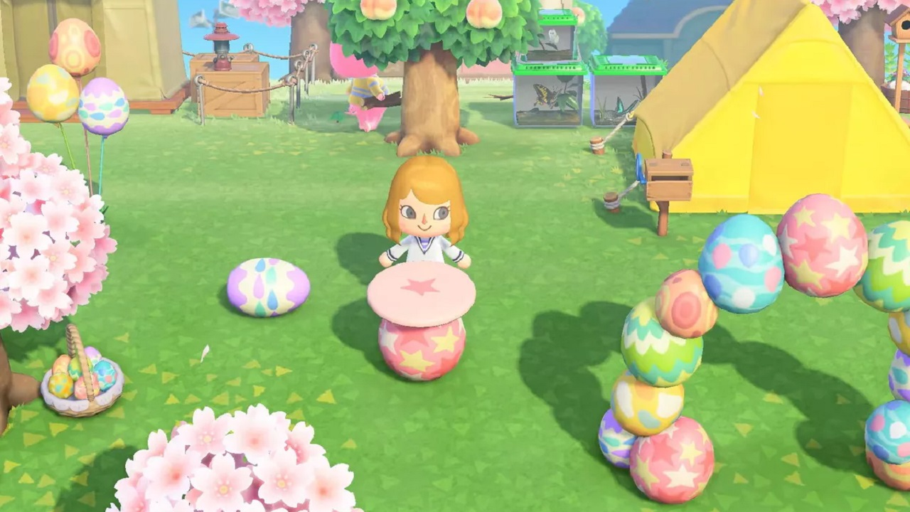 Eggs have been a little too abundant during Bunny Day. Animal Crossing: New Horizons update 1.1.4 aims to give you a little relief.