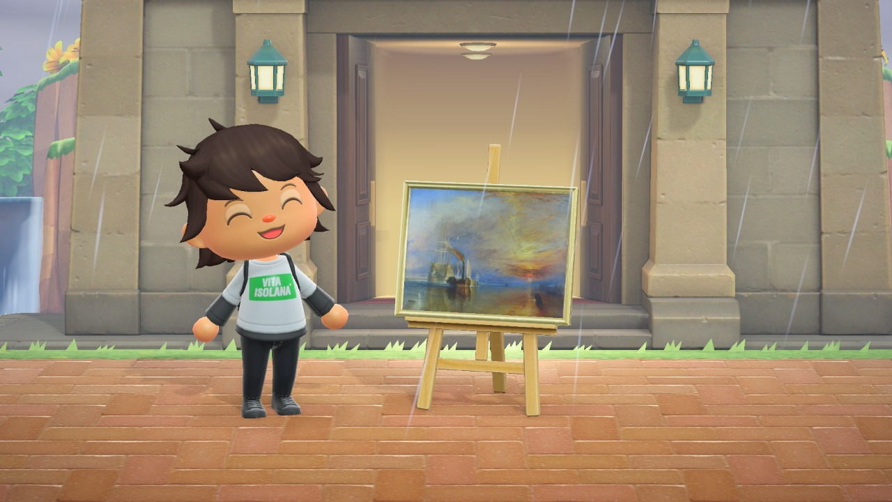 New art pieces purchased from Redd - Animal Crossing: New Horizons
