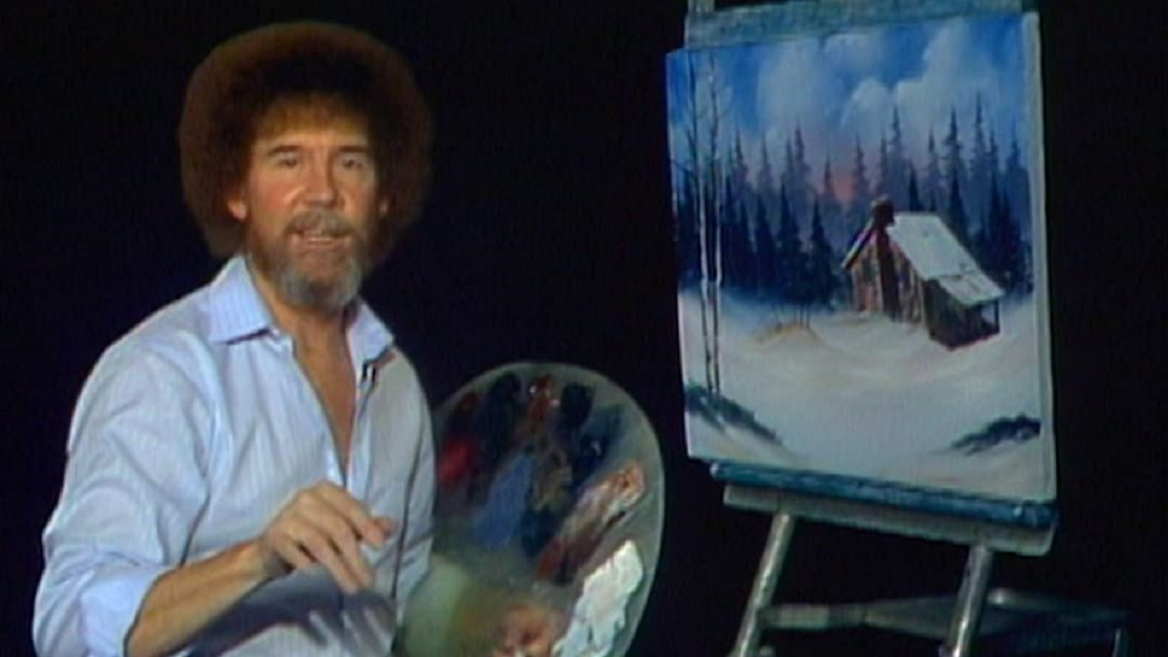 Much of Bob Ross's The Joy of Painting is filled with solid instruction on how to become a painter, but it's also just a very relaxing show.