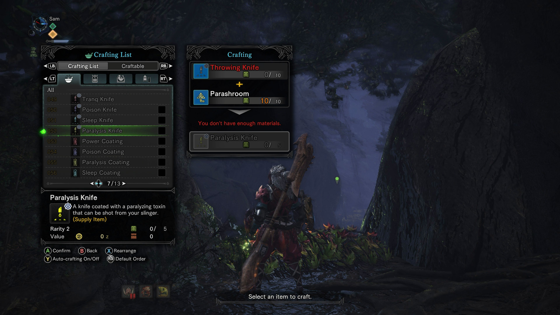 where to get throwing knives mhw
