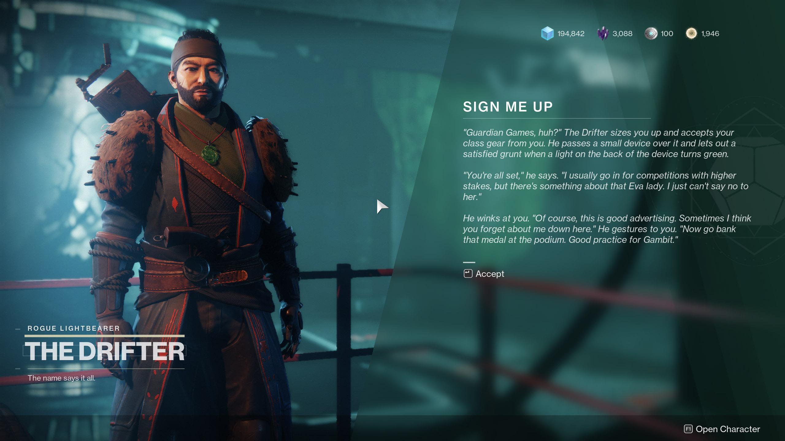 Destiny 2 Guardian Games Registration Sign Me Up