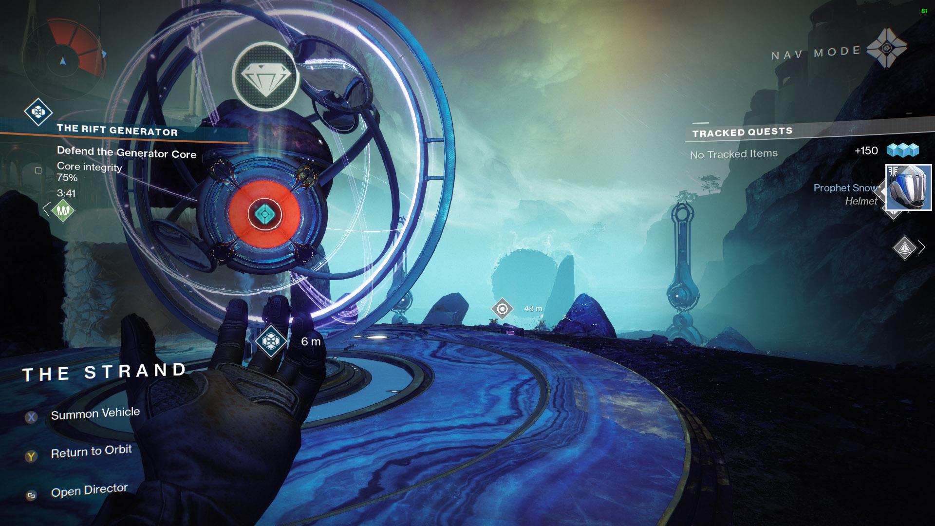 Destiny 2 Public Event Rift Generator