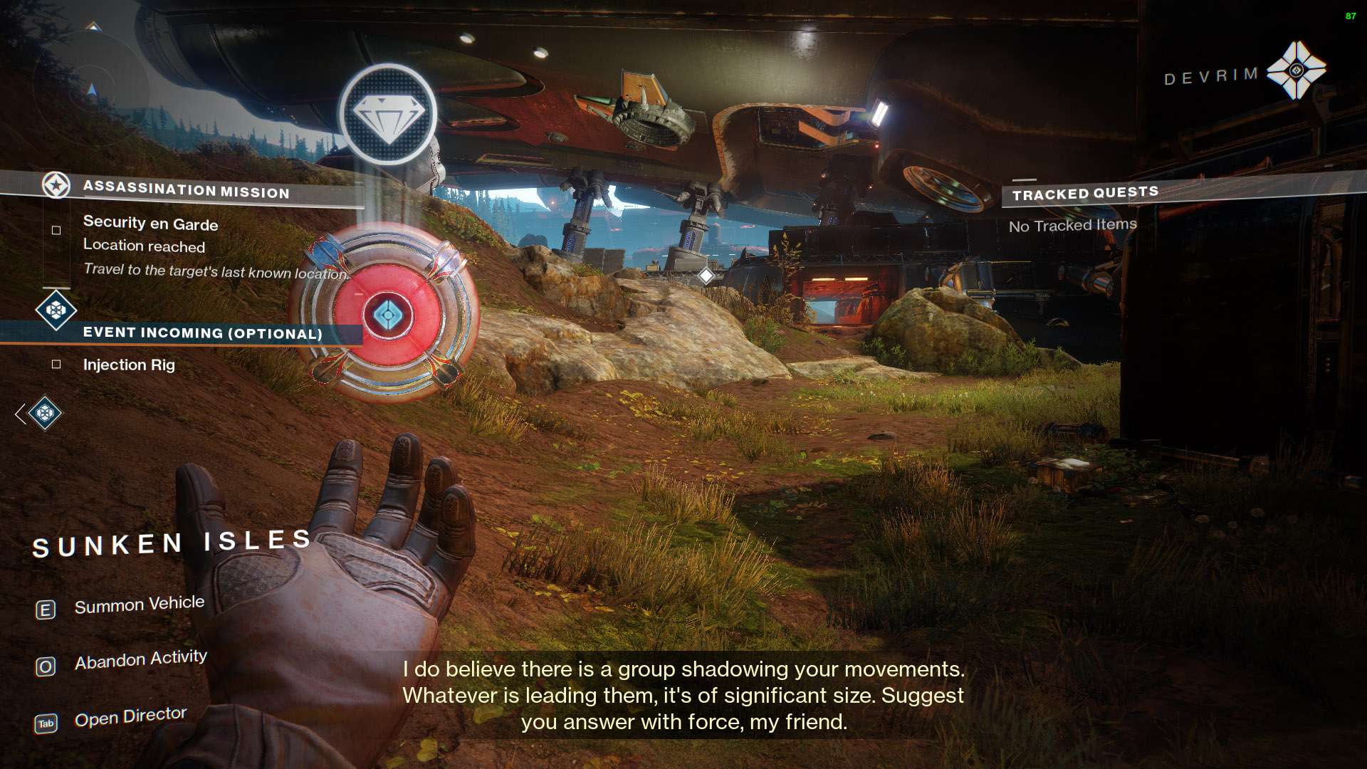 destiny 2 vip patrol objective