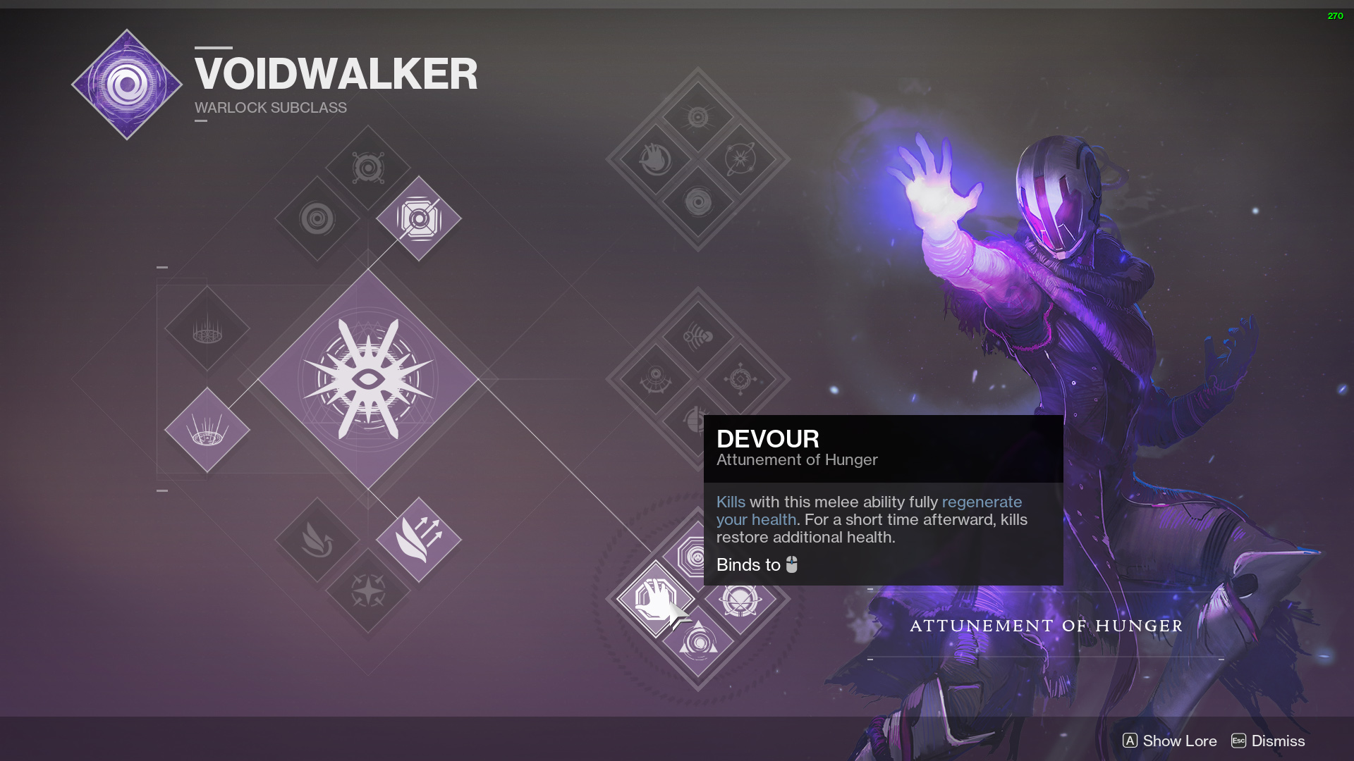 destiny 2 voidwalker devour
