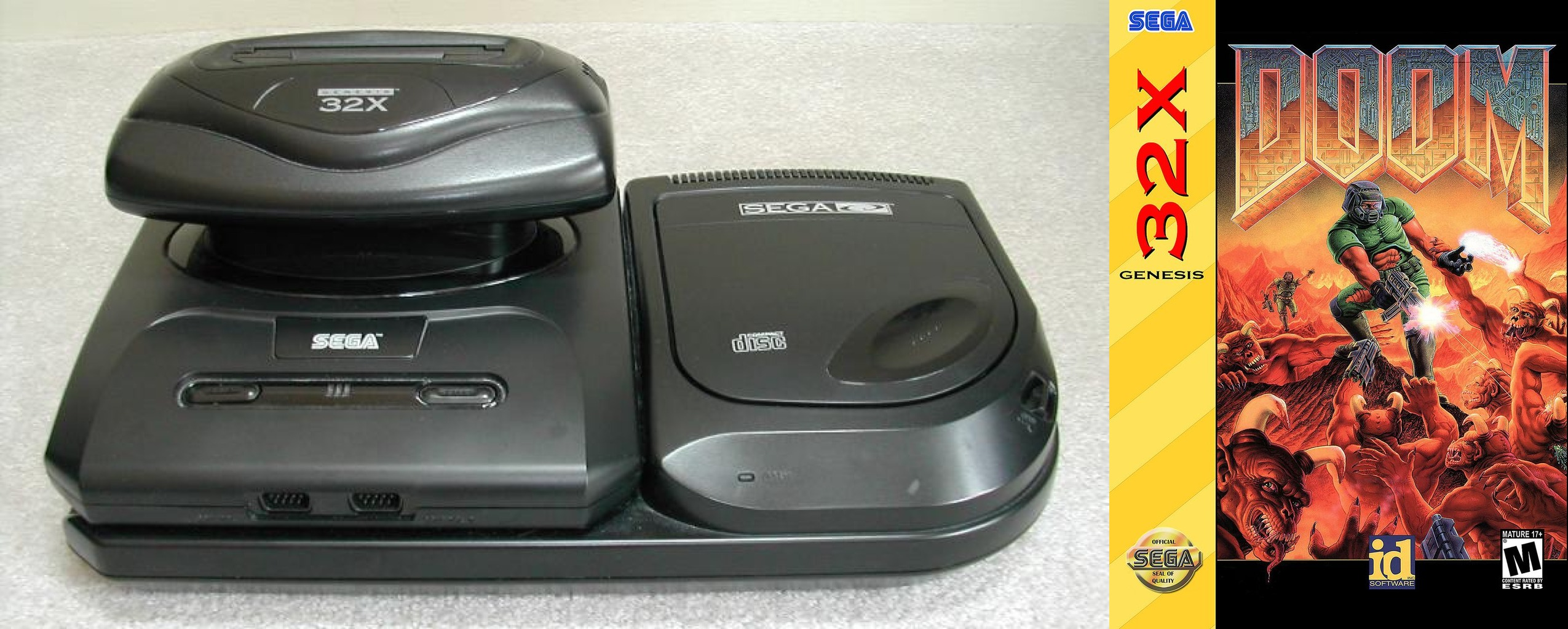 Sega 32X and Sega's port of Doom.