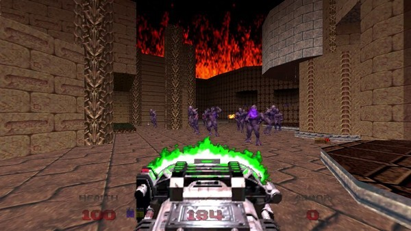Doom 64's re-release features seven new levels.
