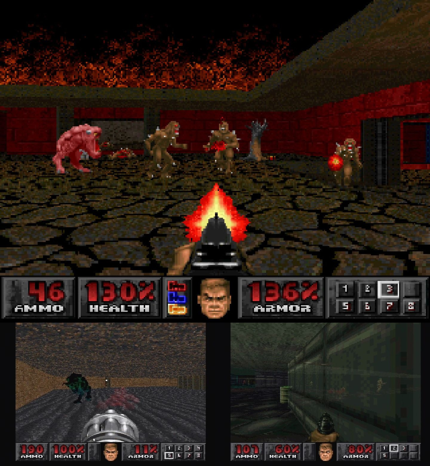 Doom on PlayStation.