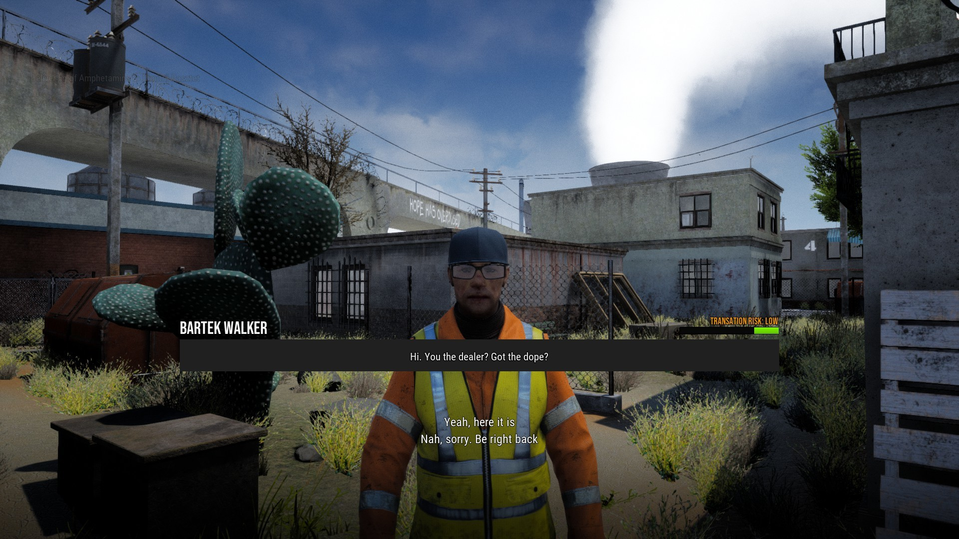 Dealing drugs in Drug Dealer simulator