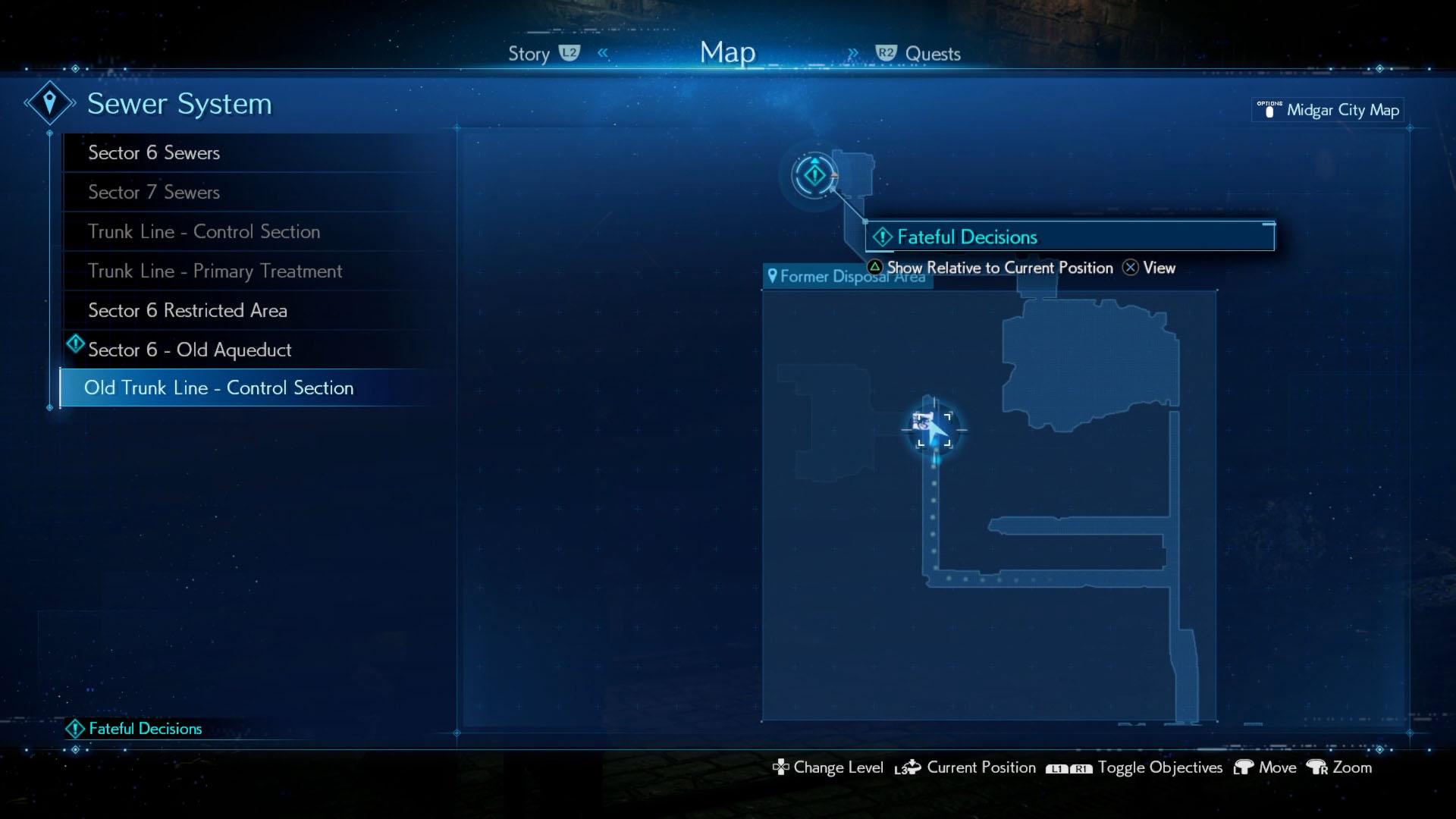 Corneo Secret Stash locations - Sewer stash - Final Fantasy 7 Remake