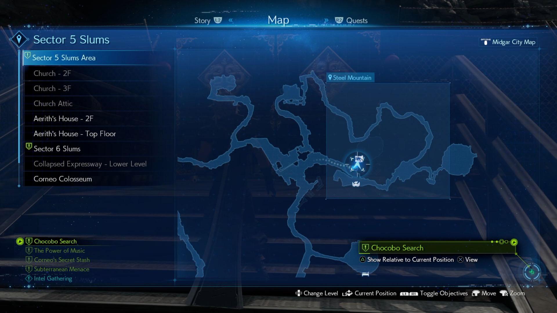 Corneo Secret Stash location - Steel Mountain - Final Fantasy 7 Remake