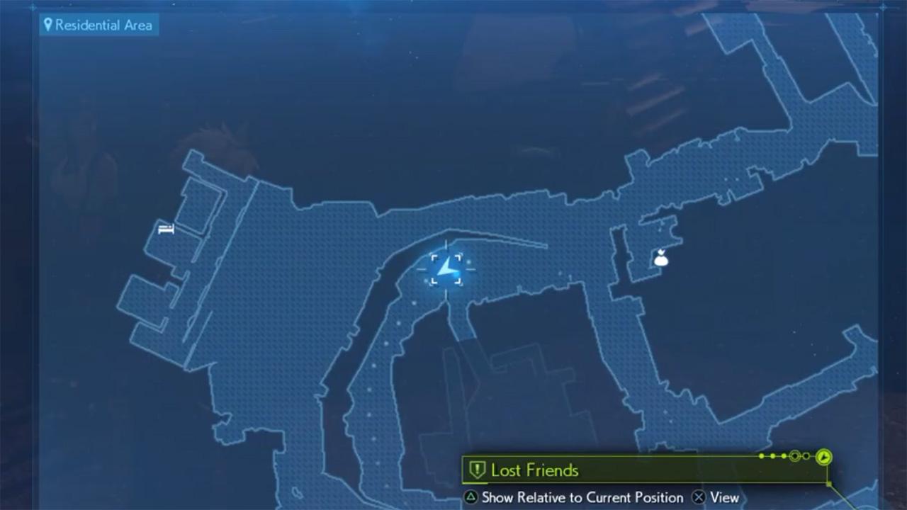 Final Fantasy 7 Remake lost friends locations