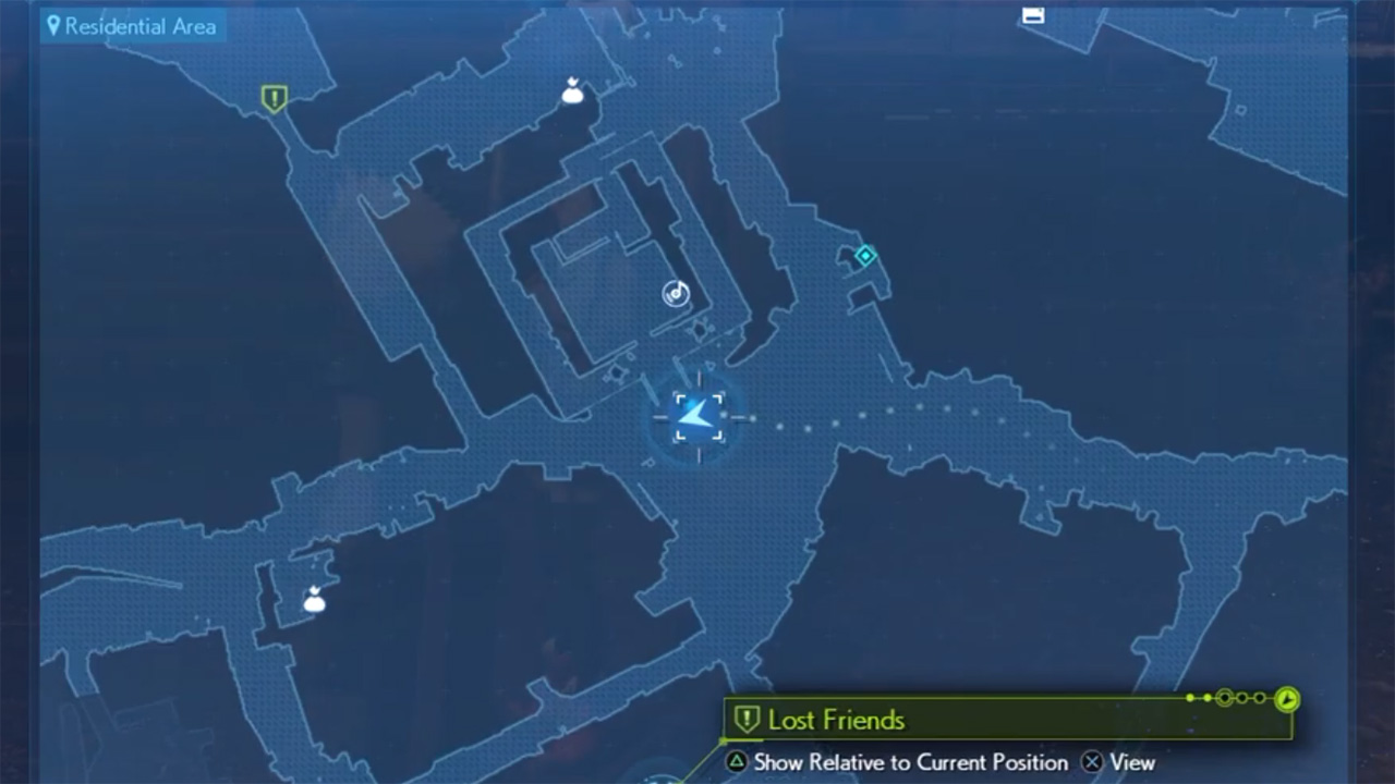 Lost friends locations - ff7r