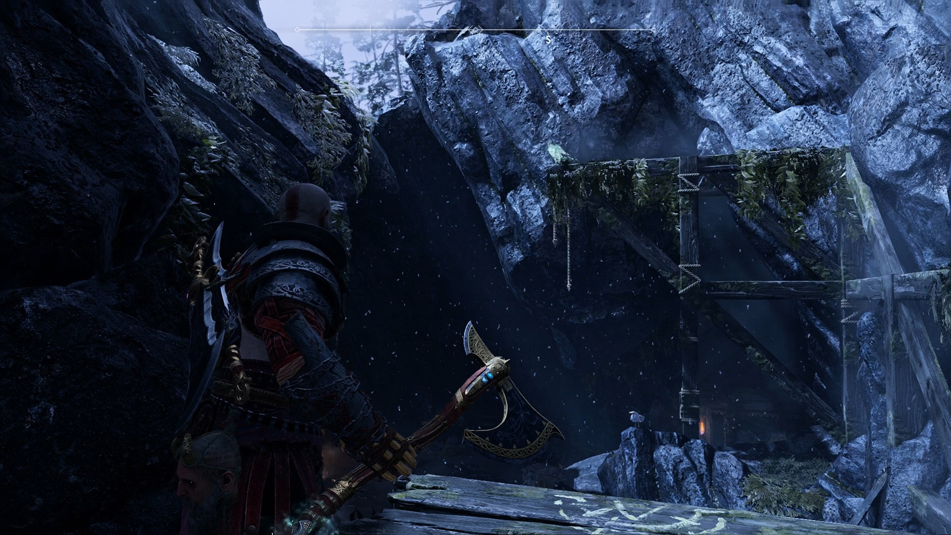 god of war eyes of odin raven landsuther mines
