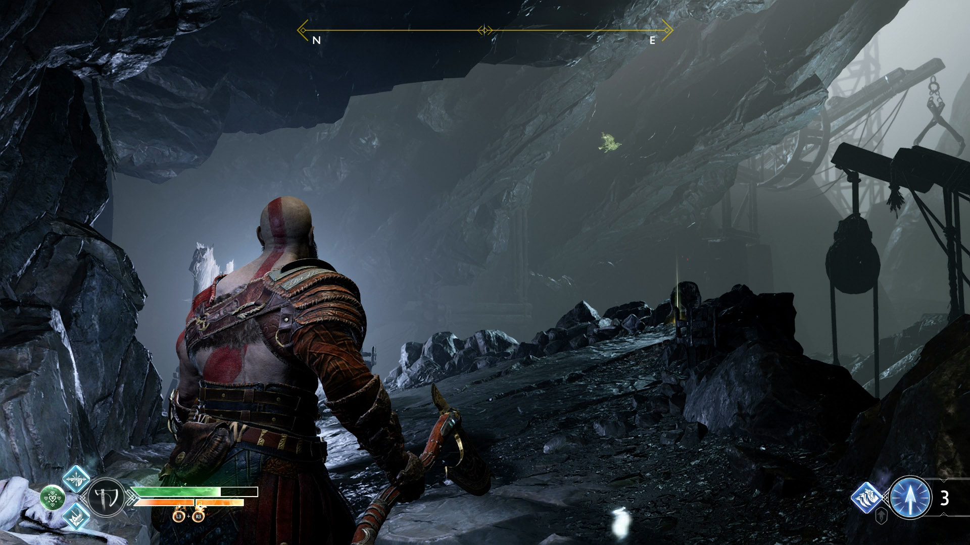 god of war eyes of odin raven the mountain 3