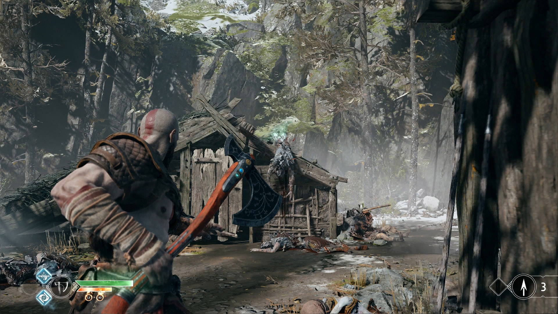 god of war eyes of odin raven river pass 4