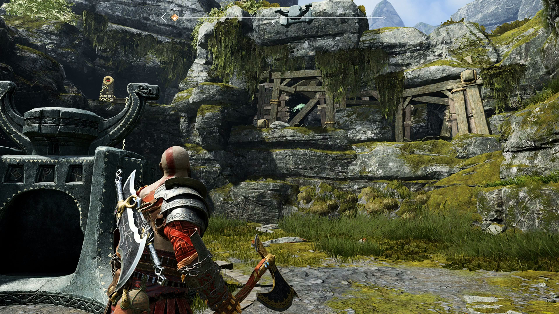 god of war eyes of odin raven veithurgard 2