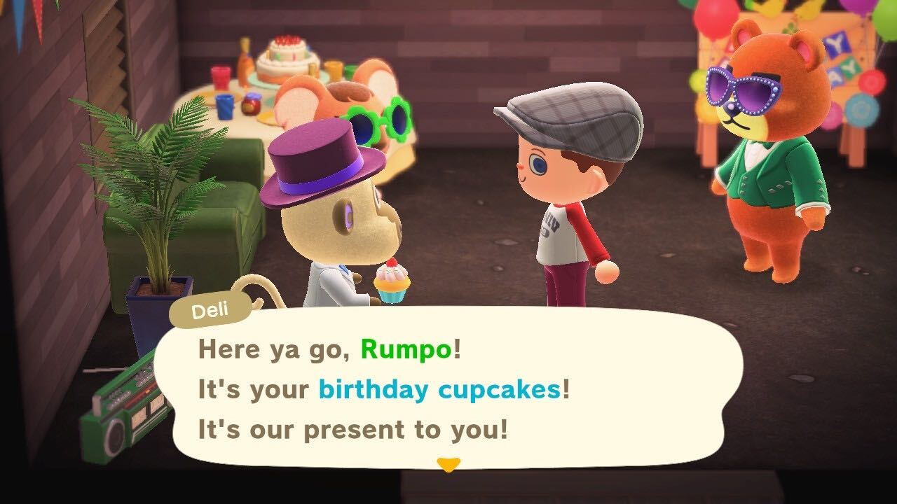 Pleasant Animal Crossing Threw Me A Birthday Party That Genuinely Lifted My Personalised Birthday Cards Veneteletsinfo