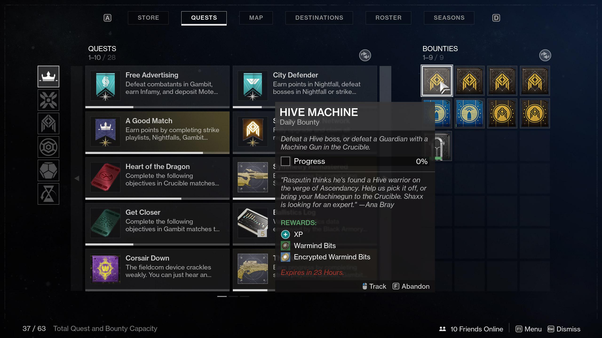Hive Machine Destiny 2