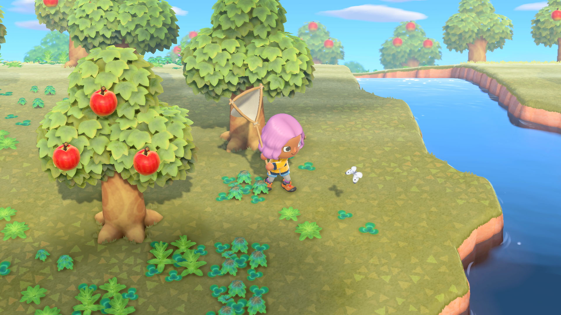 catching fleas and other bugs - animal crossing: new horizons