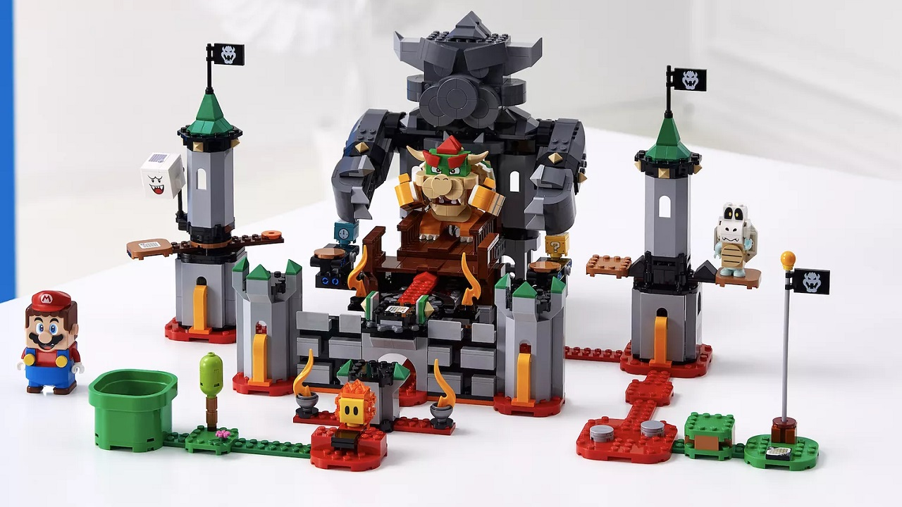LEGO Super Mario Bowser Castle Expansion Set [Image by LEGO/Nintendo]