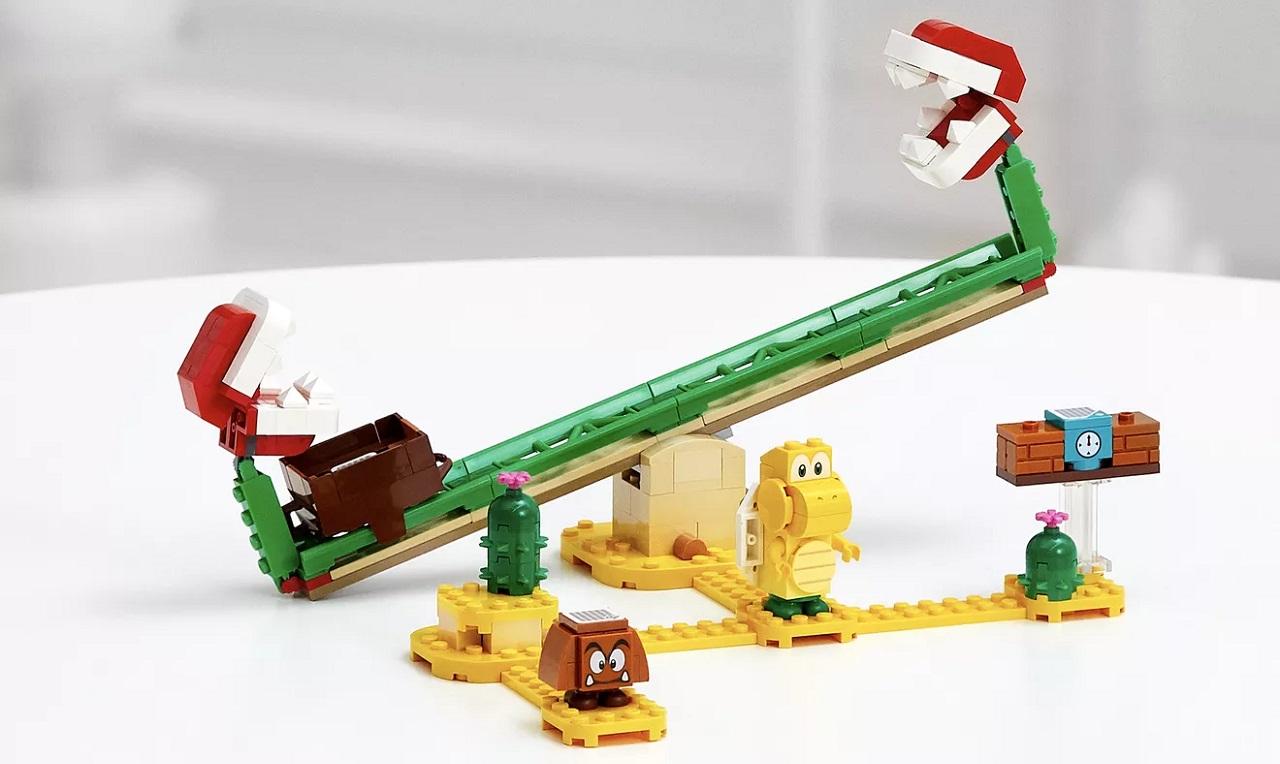 LEGO Super Mario Piranha Plant Expansion Set [Image by LEGO/Nintendo]