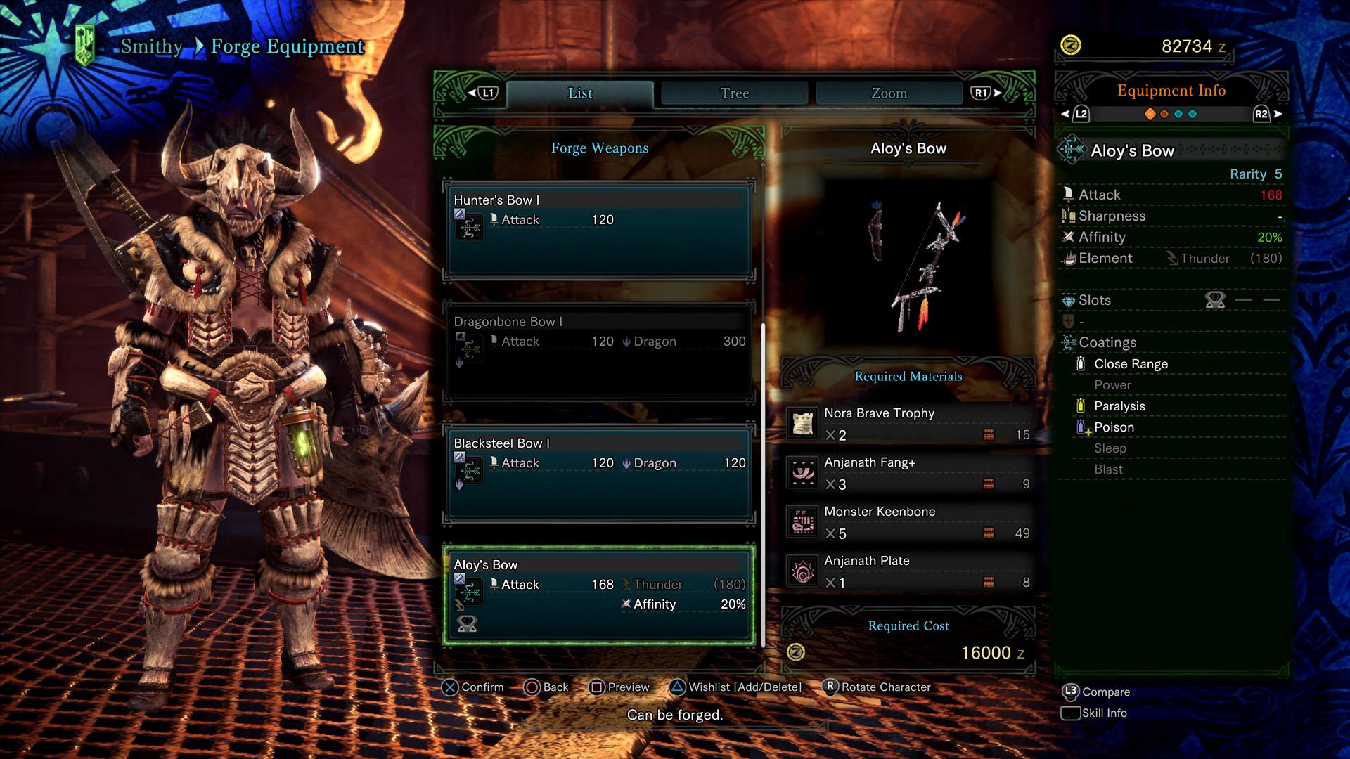 aloy bow monster hunter world