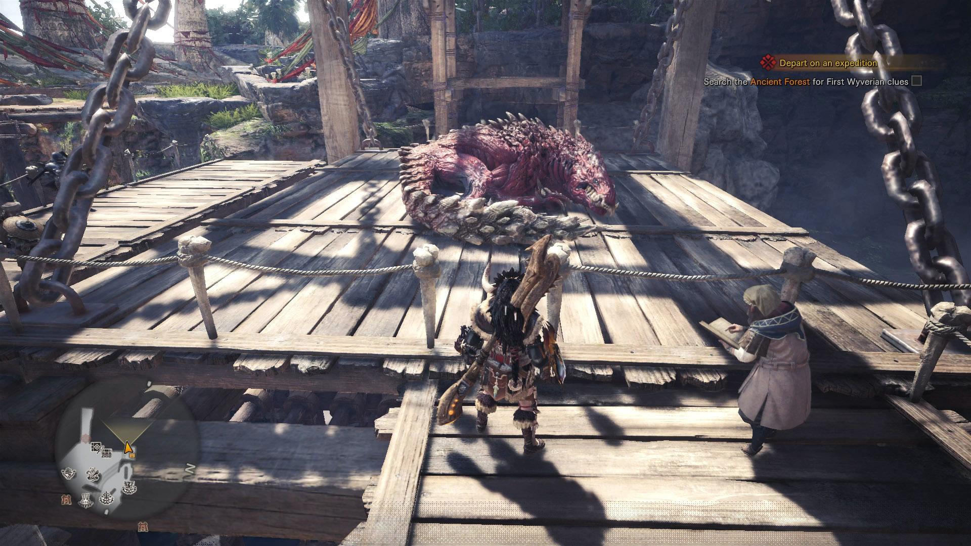 monster hunter world odogaron capture