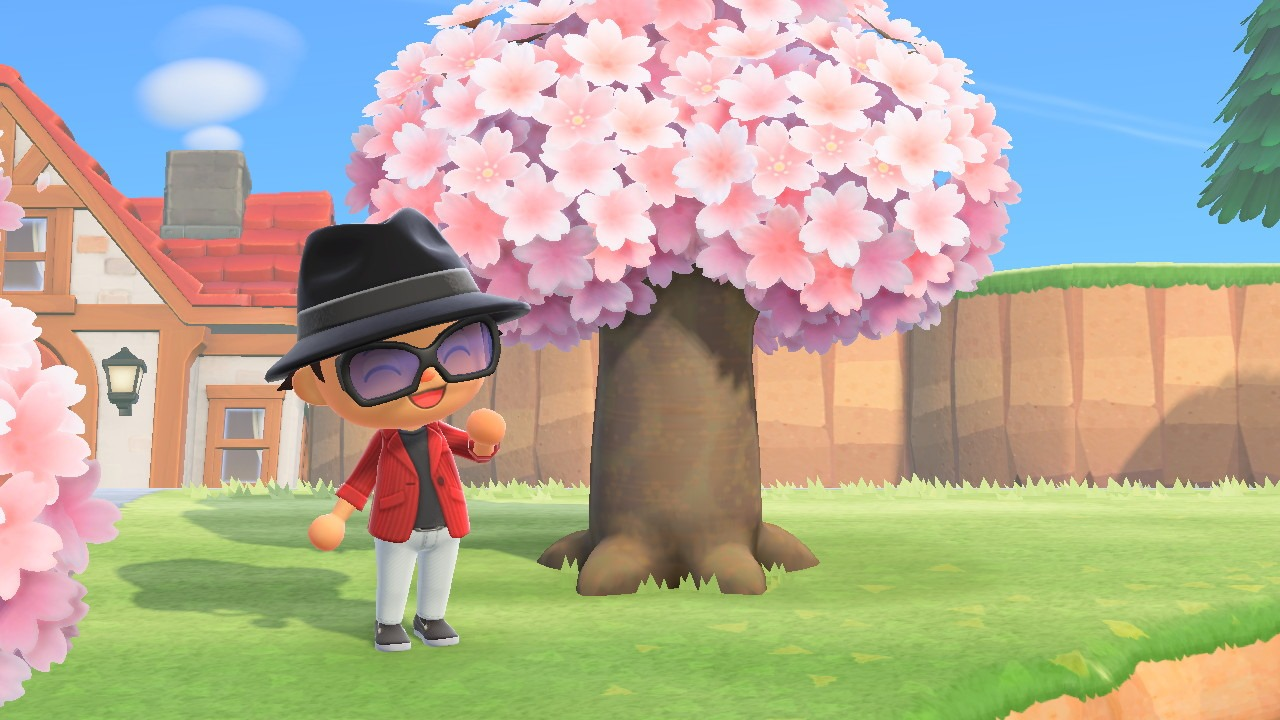 a non-fruit tree in animal crossing: new horizons