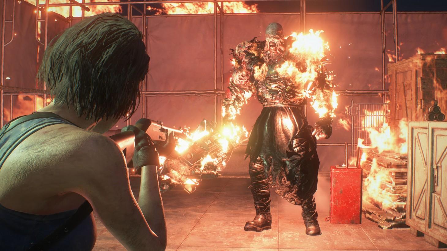 Resident Evil 3's Nemesis.
