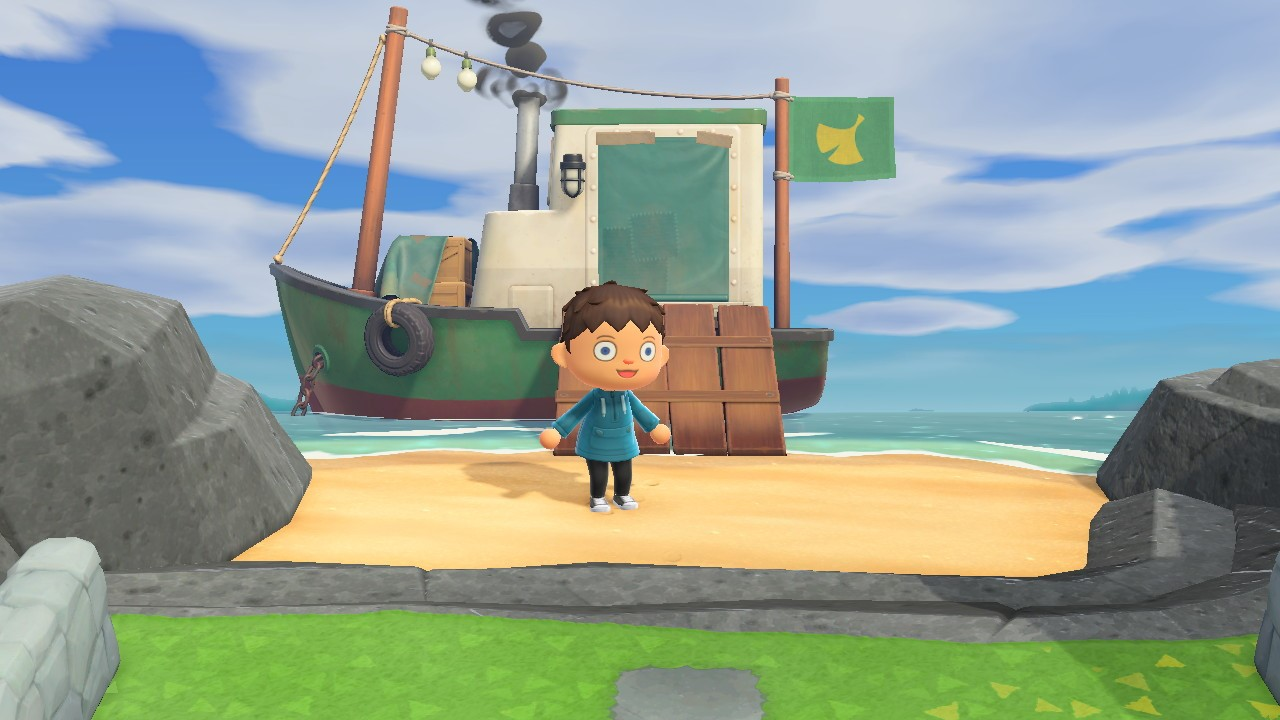 Redds boat dock location - animal crossing: new horizons