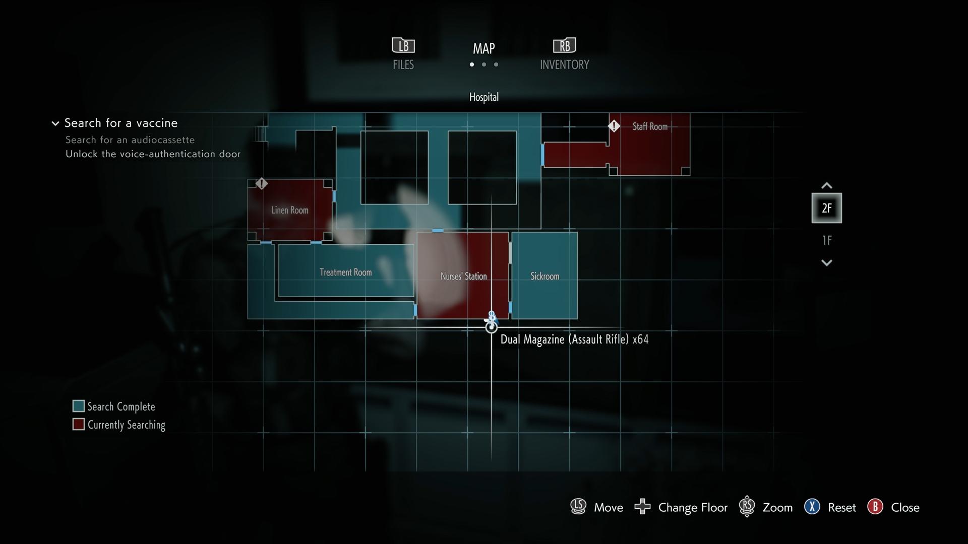 Resident Evil 3 Assault Rifle Dual Magazine location map
