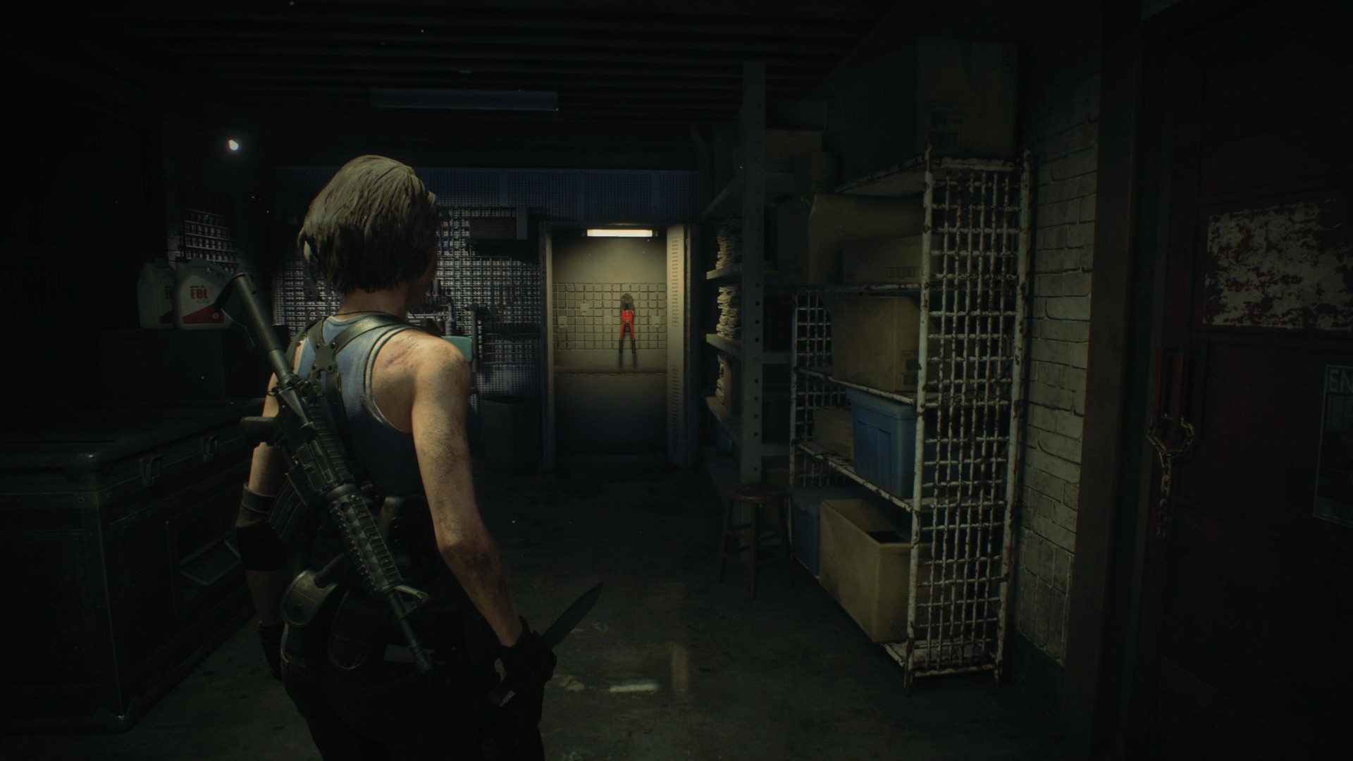 Resident Evil 3 bolt cutters location