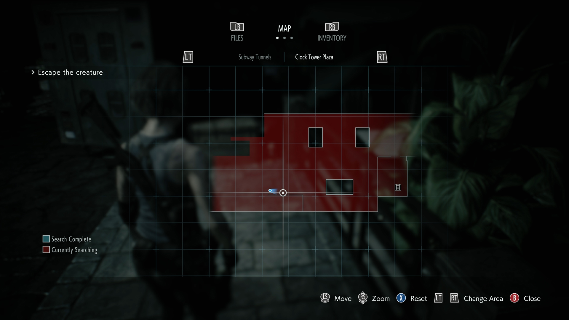 Resident Evil 3 Charlie Doll locations Clock Tower Plaza Map