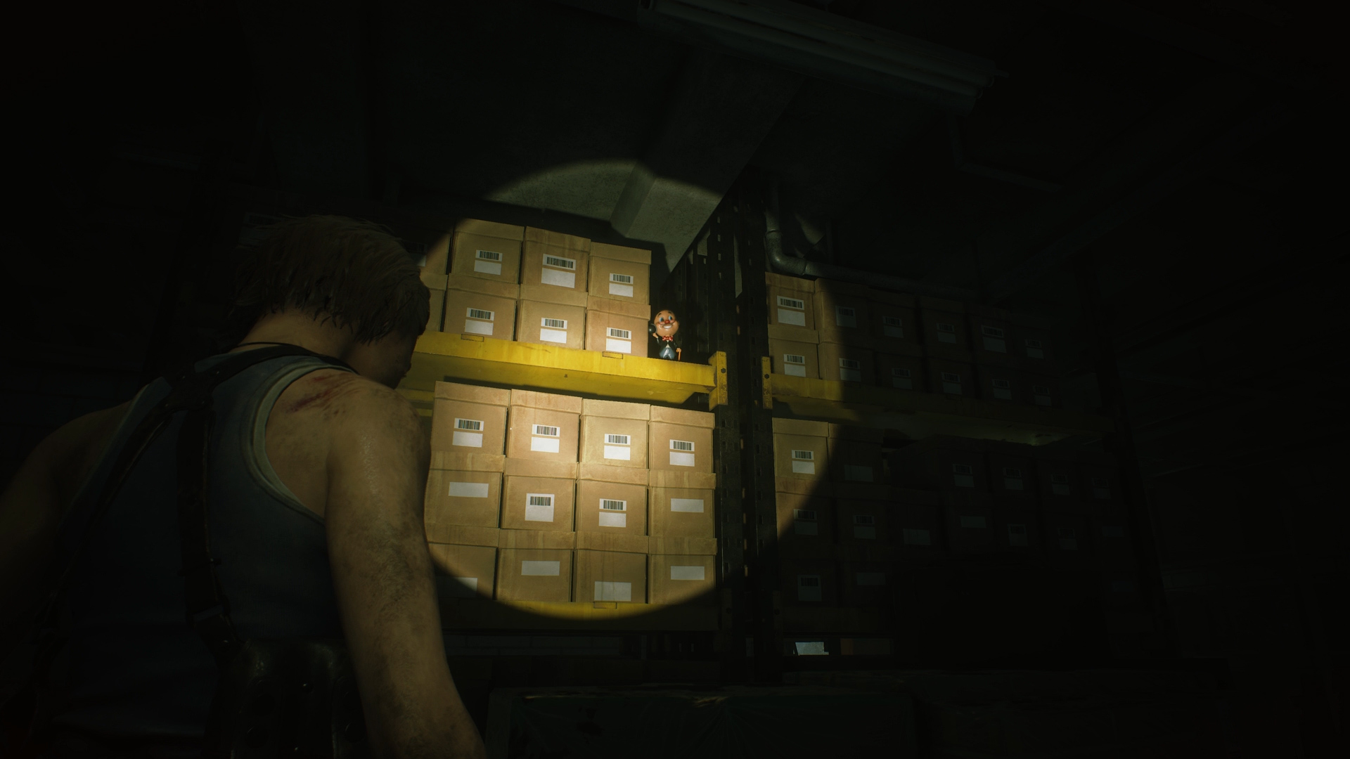 Resident Evil 3 Charlie Doll locations drugstore storage