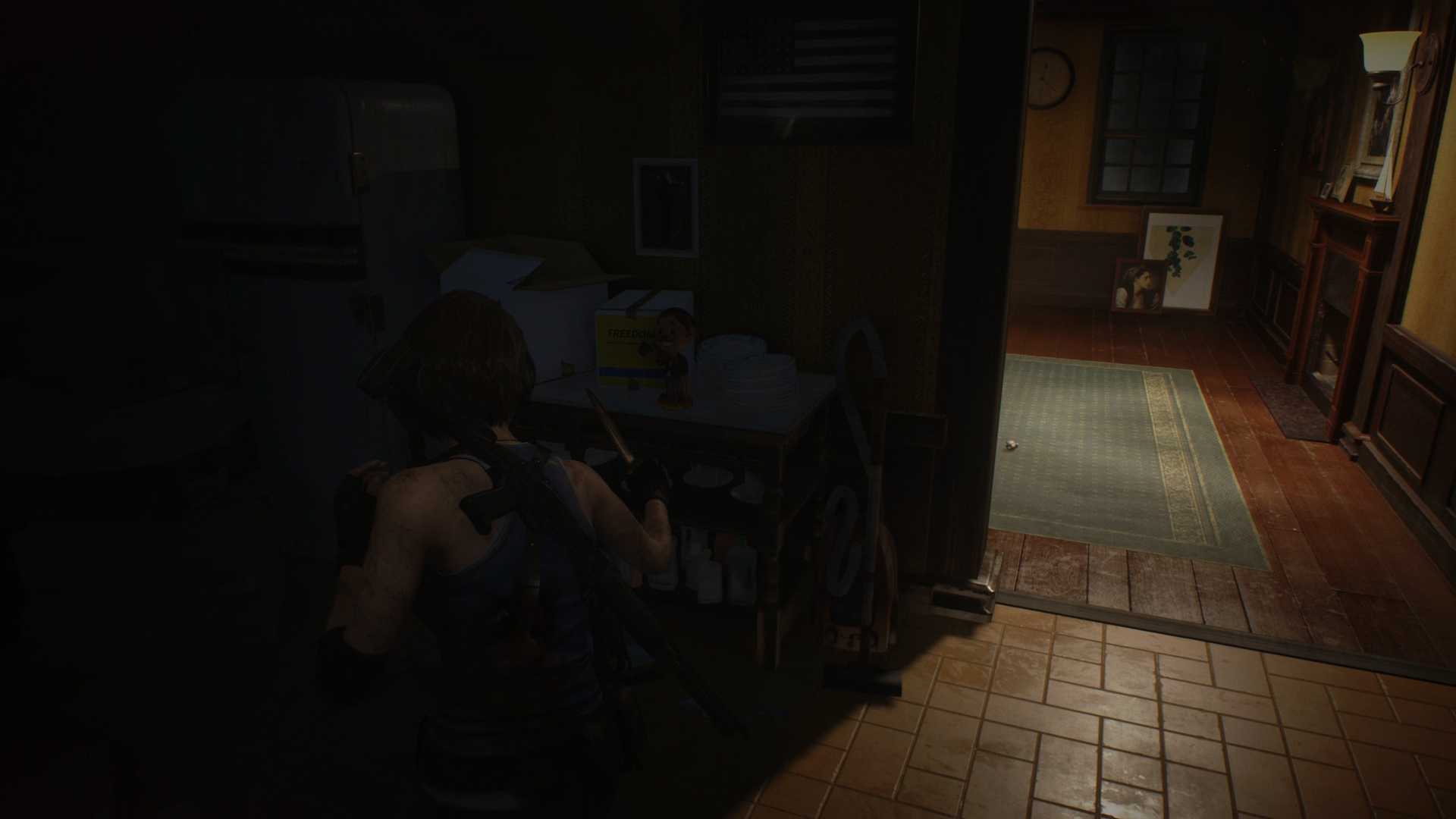 Resident Evil 3 Charlie Doll locations Downtown house