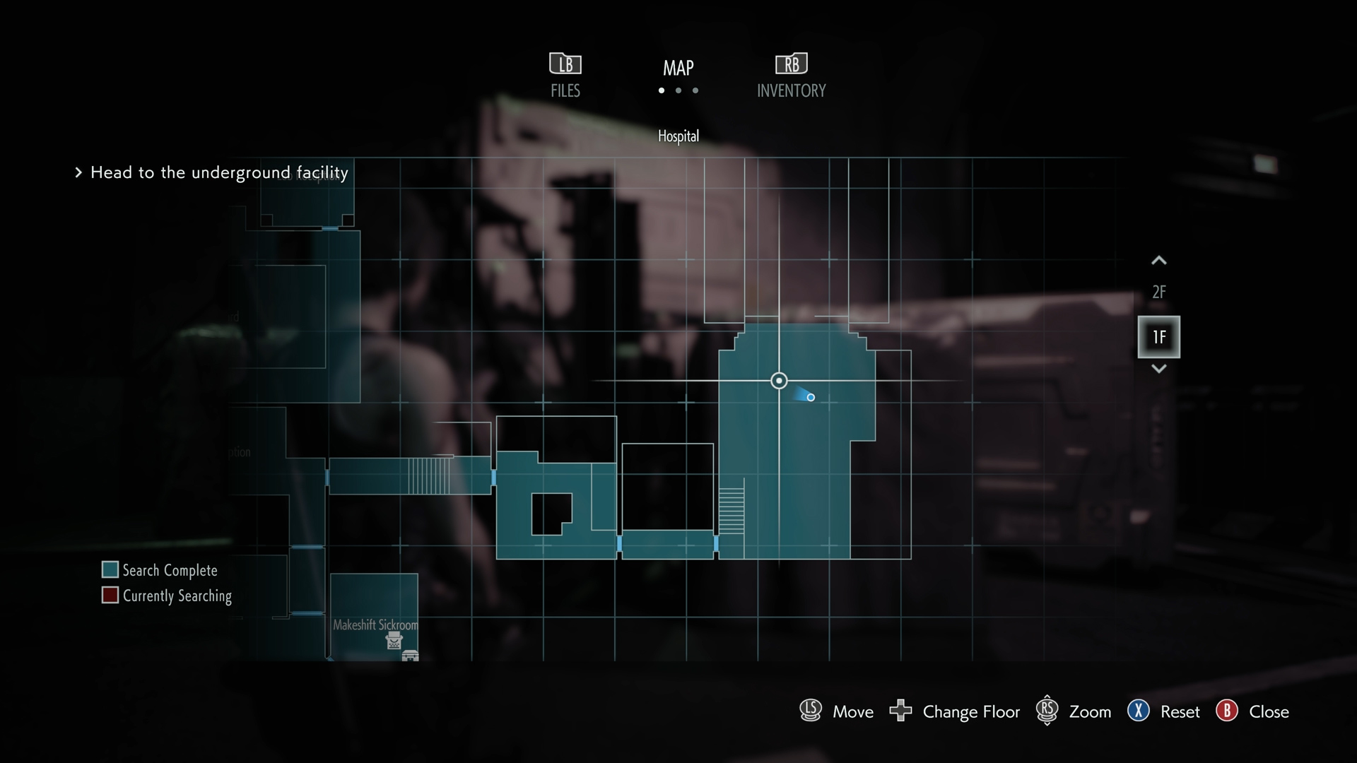 Resident Evil 3 Charlie Doll locations Hospital Before Warehouse map