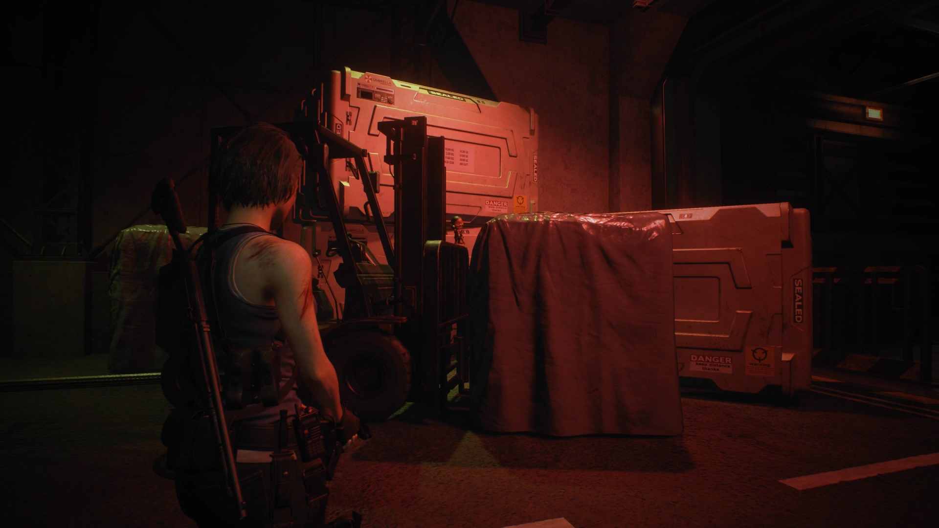 Resident Evil 3 Charlie Doll locations Hospital Before Warehouse