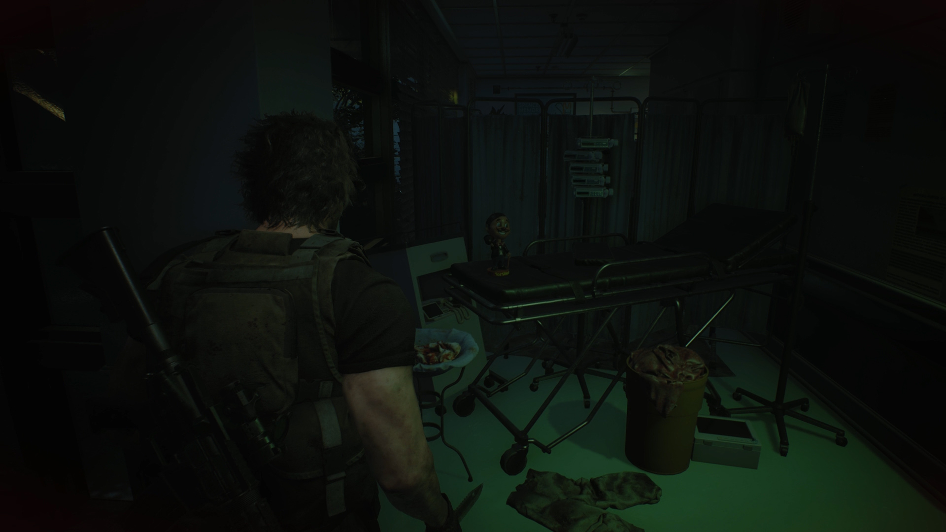 Resident Evil 3 Charlie Doll locations Hospital Reception