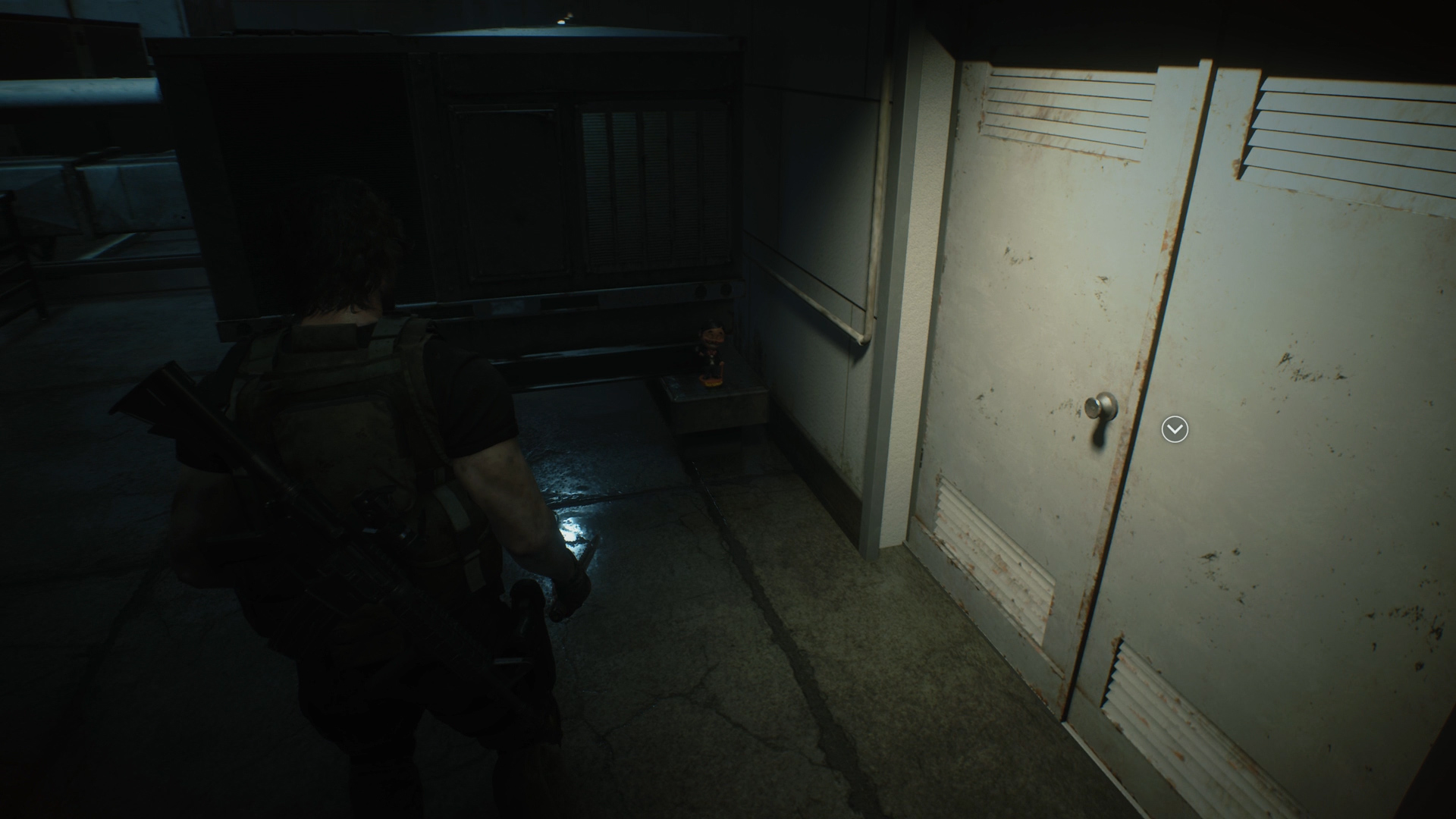 Resident Evil 3 Charlie Doll locations Hospital Roof