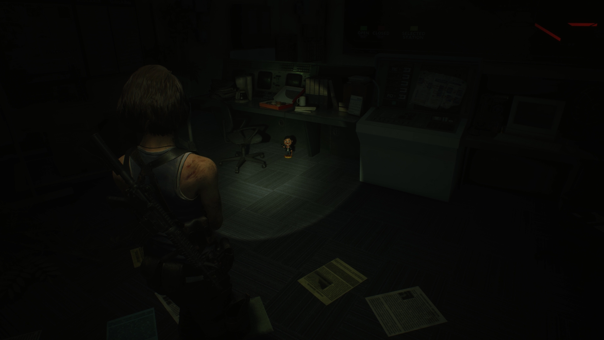 Resident Evil 3 Charlie Doll locations Subway Control Room