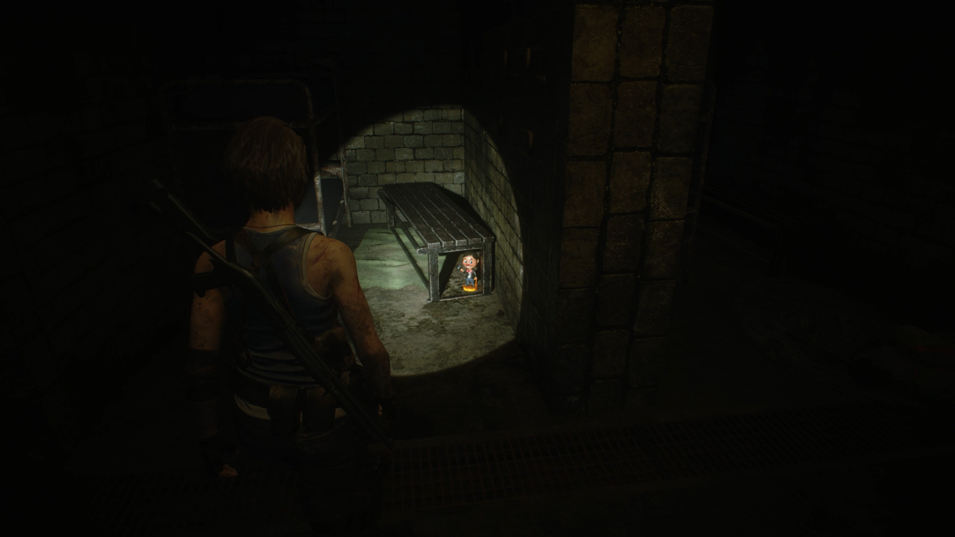 Resident Evil 3 Charlie Doll locations Subway Tunnels