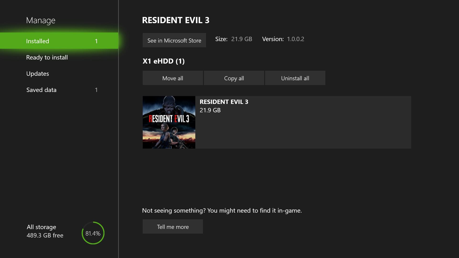 resident evil 3 download file size