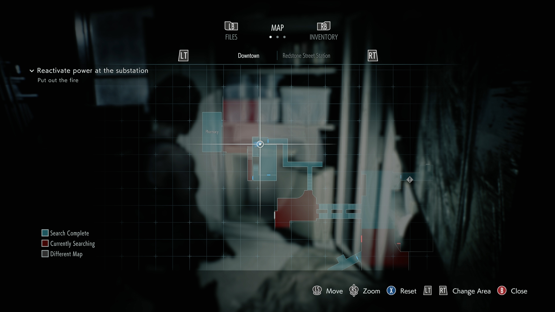 Resident Evil 3 Dot Sight Handgun location map