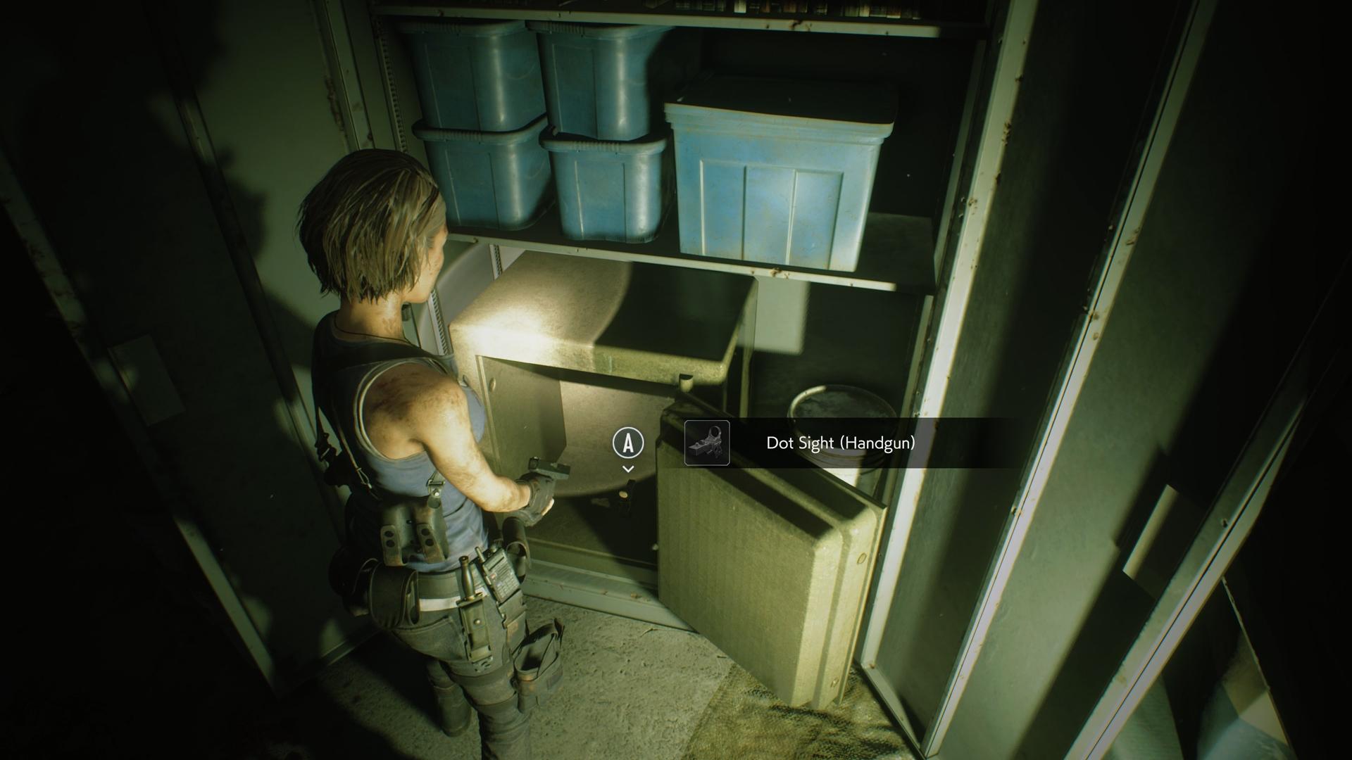 Resident Evil 3 Dot Sight Handgun