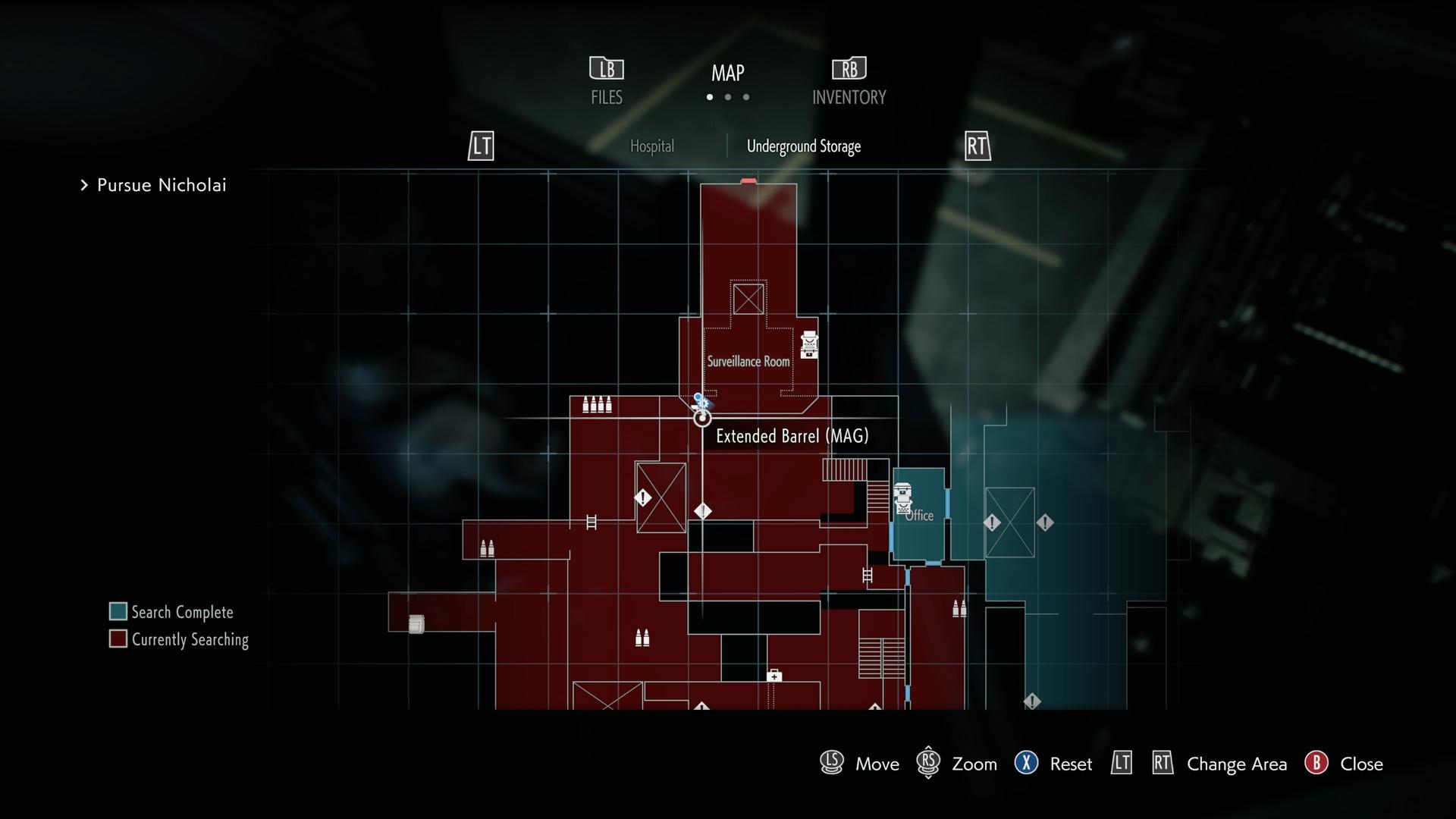 Resident Evil 3 Lightning Hawk Magnum Extended Barrel location map